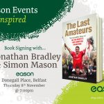 Launch of 'The Last Amateurs' at Eason, Donegall Place